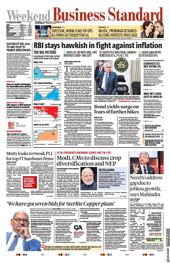Read full digital edition of Business Standard newspaper from India