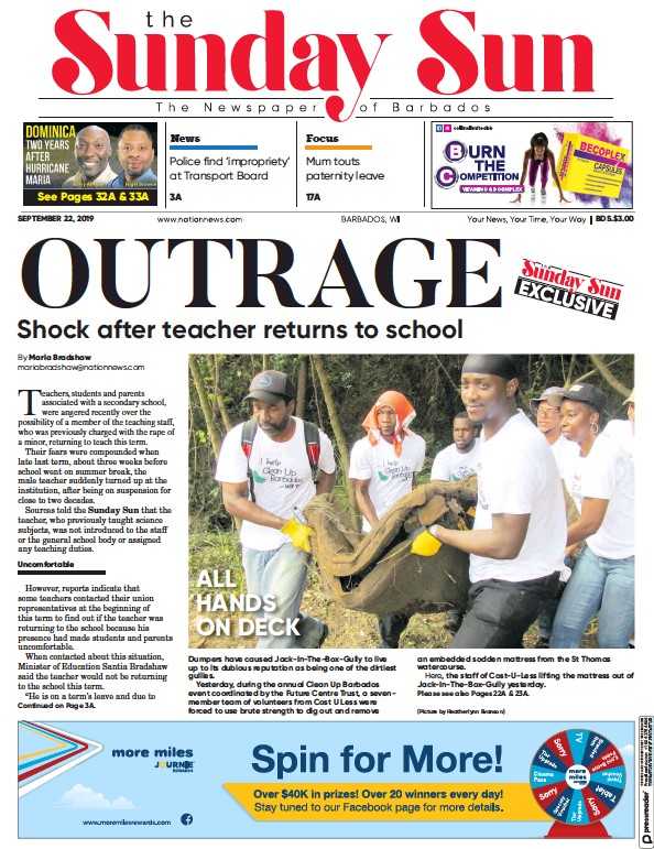 Read full digital edition of Sun (Barbados) newspaper from Barbados