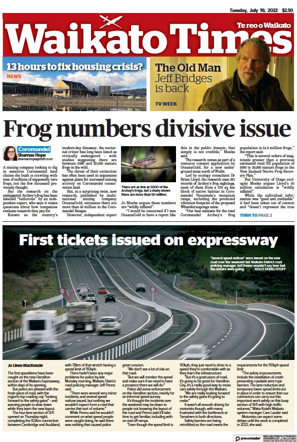 Read full digital edition of Waikato Times newspaper from New Zealand