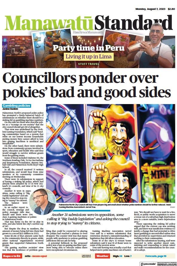 Read full digital edition of Manawatu Standard newspaper from New Zealand