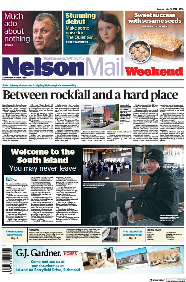 Read full digital edition of The Nelson Mail newspaper from New Zealand