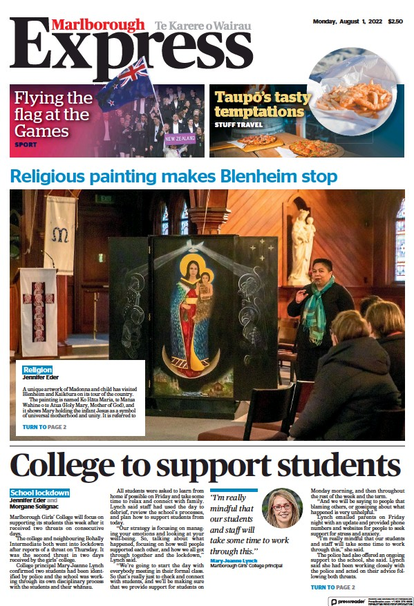 Read full digital edition of The Marlborough Express newspaper from New Zealand