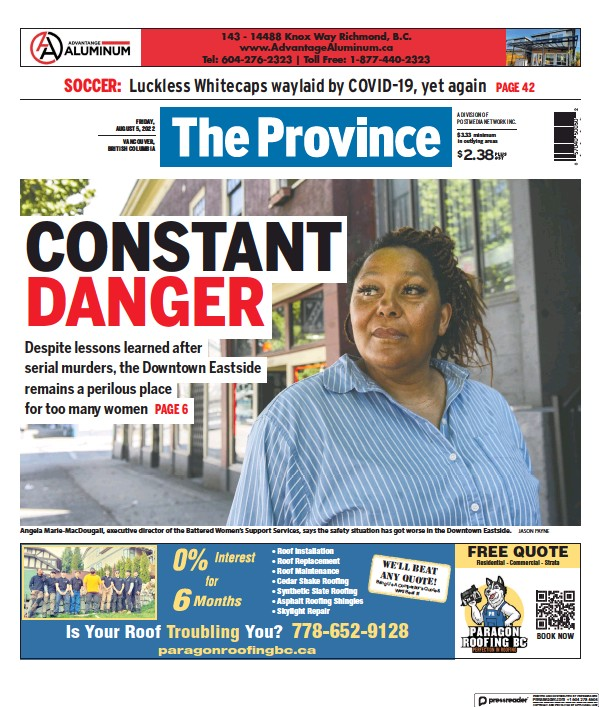 Read full digital edition of The Province (Vancouver) newspaper from Canada