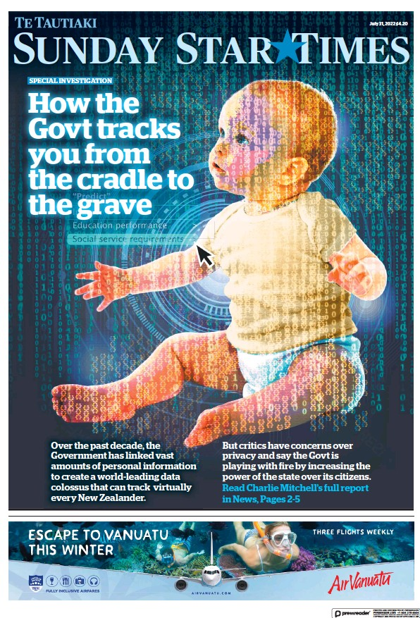 Read full digital edition of Sunday Star Times newspaper from New Zealand