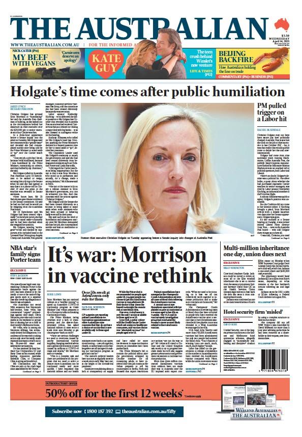 Read full digital edition of The Australian newspaper from Australia