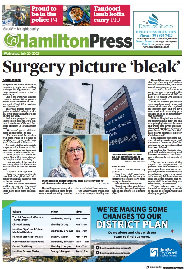 Read full digital edition of Hamilton Press newspaper from New Zealand