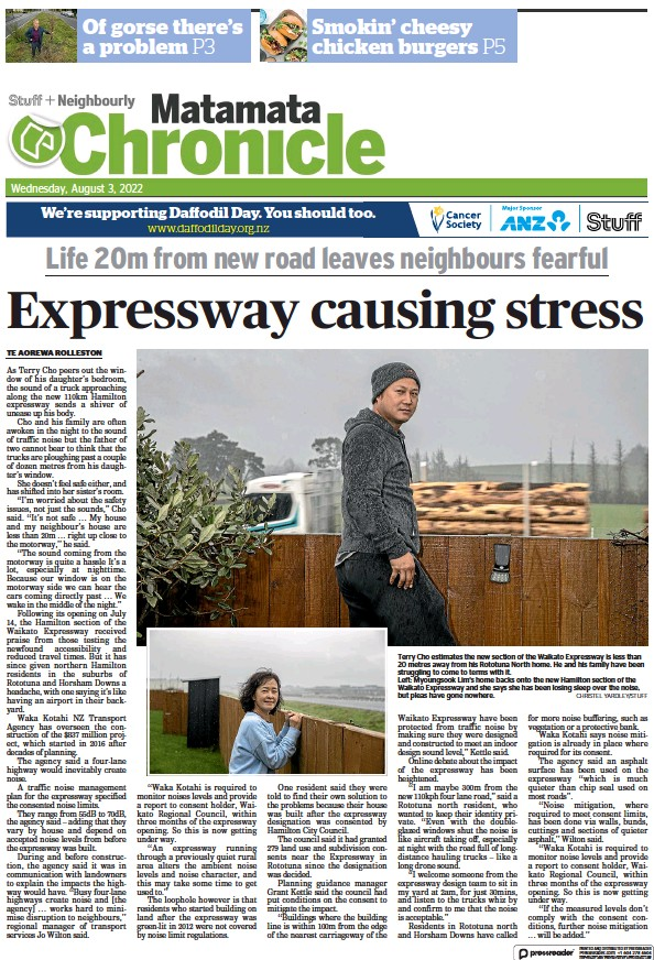 Read full digital edition of Matamata Chronicle newspaper from New Zealand