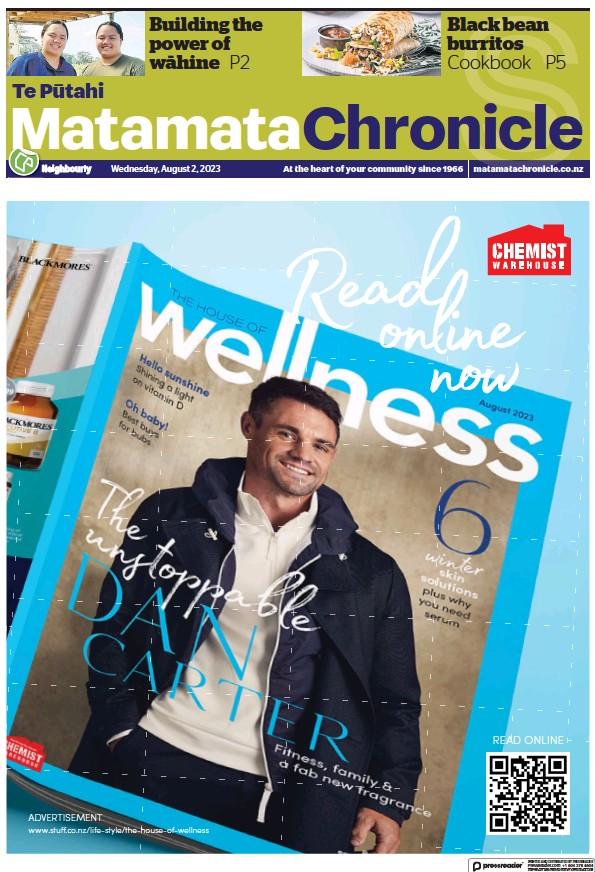 Read full digital edition of Matamata Chronicle newspaper from New Zealand