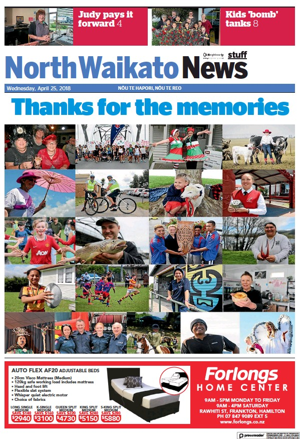 Read full digital edition of North Waikato News newspaper from New Zealand