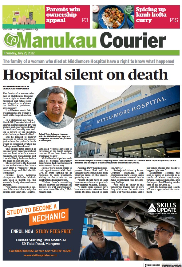 Read full digital edition of Manukau Courier newspaper from New Zealand