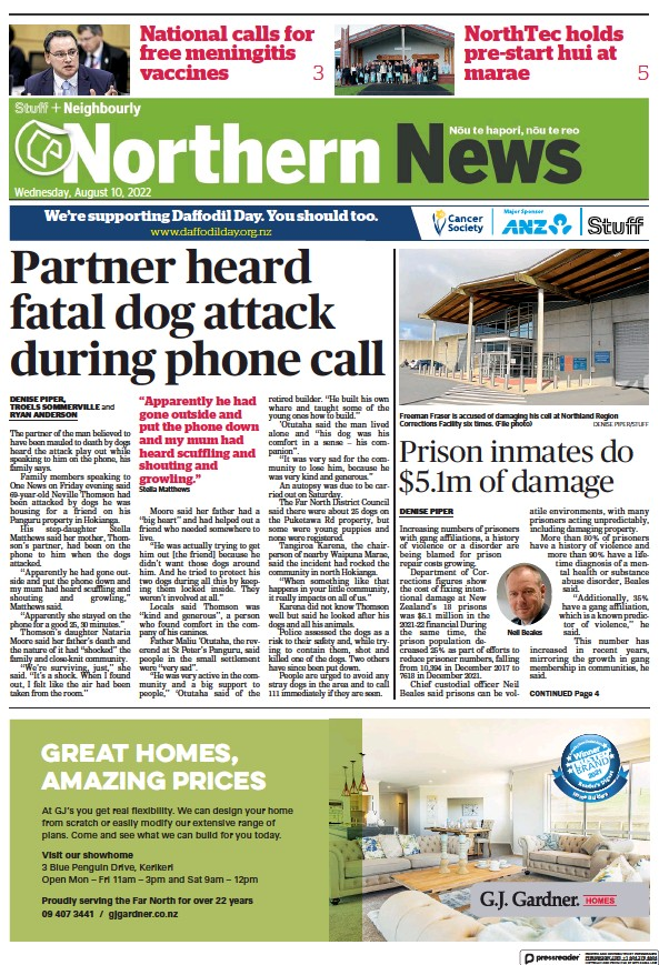 Read full digital edition of Northern News newspaper from New Zealand