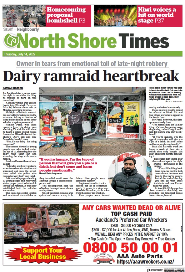 Read full digital edition of North Shore Times newspaper from New Zealand