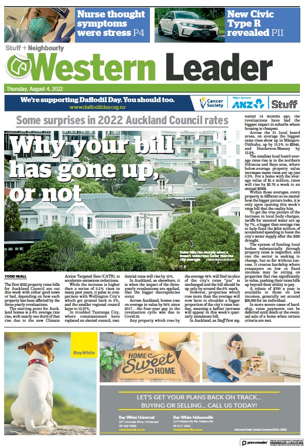 Read full digital edition of Western Leader newspaper from New Zealand