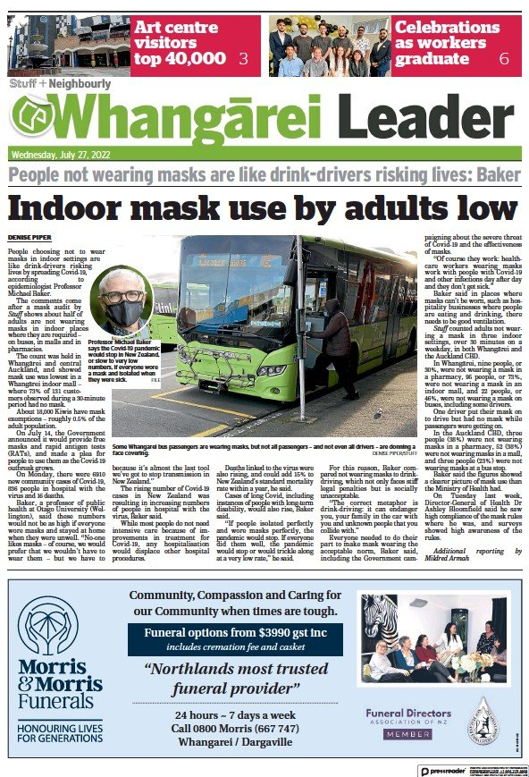 Read full digital edition of Whangarei Leader newspaper from New Zealand