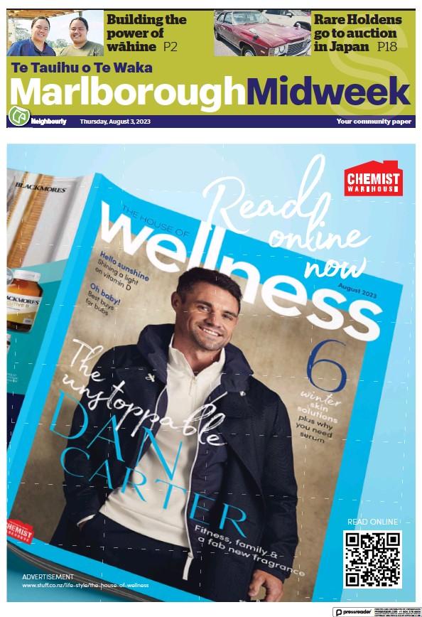 Read full digital edition of Marlborough Midweek newspaper from New Zealand