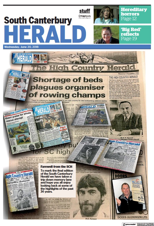 Read full digital edition of South Canterbury Herald newspaper from New Zealand