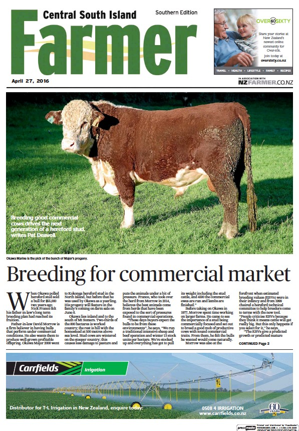 Read full digital edition of Central South Island Farmer newspaper from New Zealand