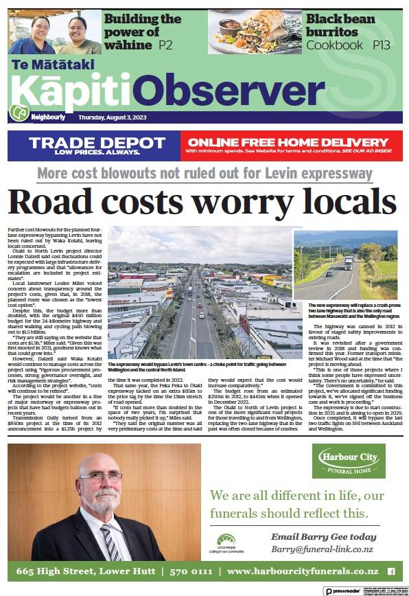 Read full digital edition of Kapiti Observer newspaper from New Zealand