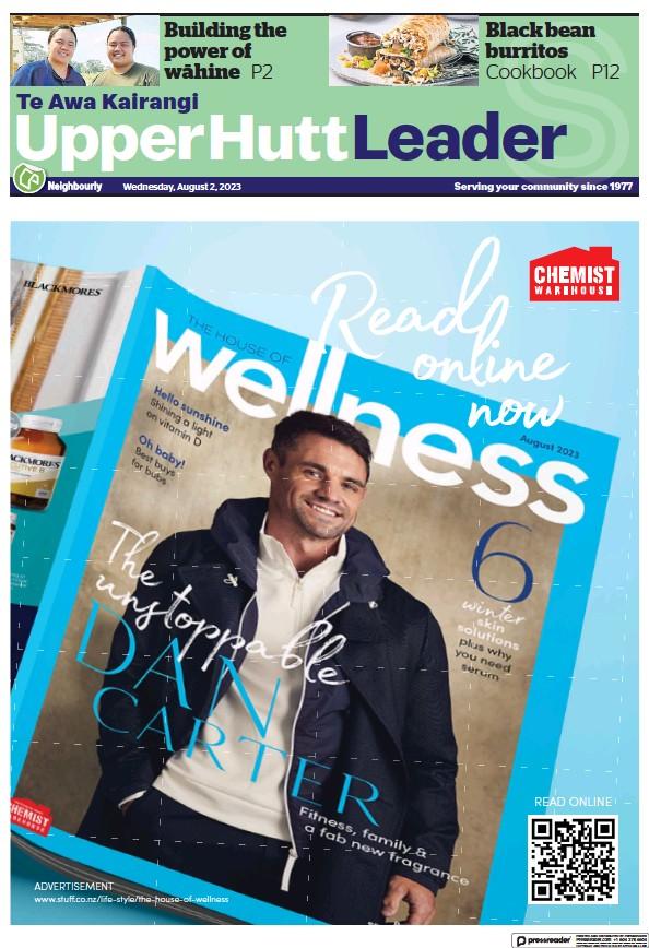 Read full digital edition of Upper Hutt Leader newspaper from New Zealand