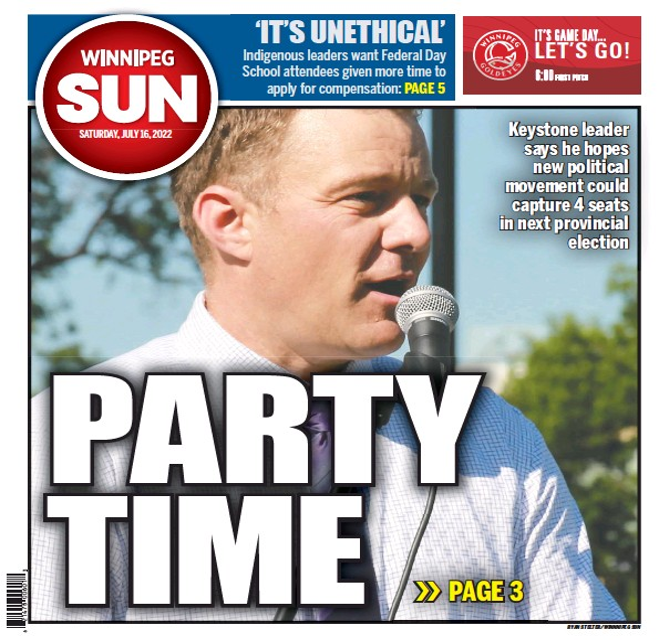 Read full digital edition of Winnipeg Sun newspaper from Canada