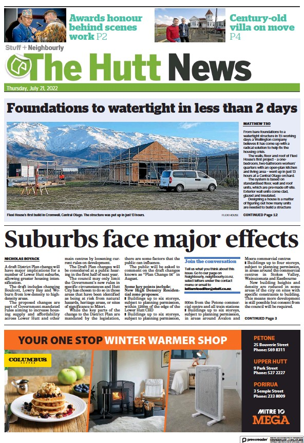 Read full digital edition of The Hutt News newspaper from New Zealand