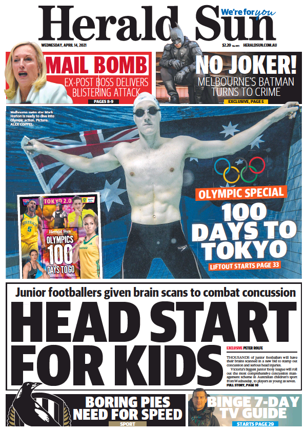 Read full digital edition of Herald Sun newspaper from Australia