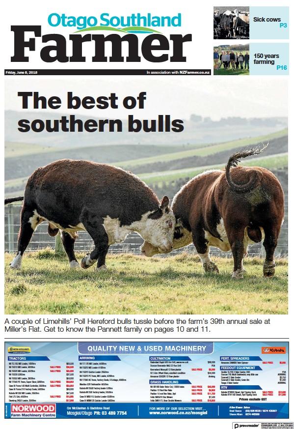 Read full digital edition of Otago Southland Farmer newspaper from New Zealand