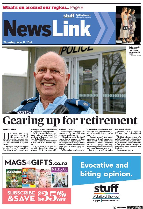 Read full digital edition of Newslink newspaper from New Zealand