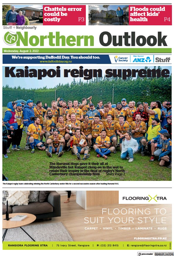 Read full digital edition of Northern Outlook newspaper from New Zealand