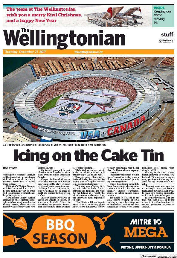 Read full digital edition of The Wellingtonian newspaper from New Zealand
