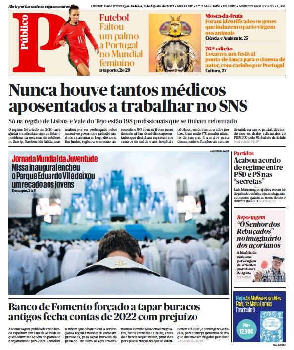 Read full digital edition of Publico Porto Edition newspaper from Portugal
