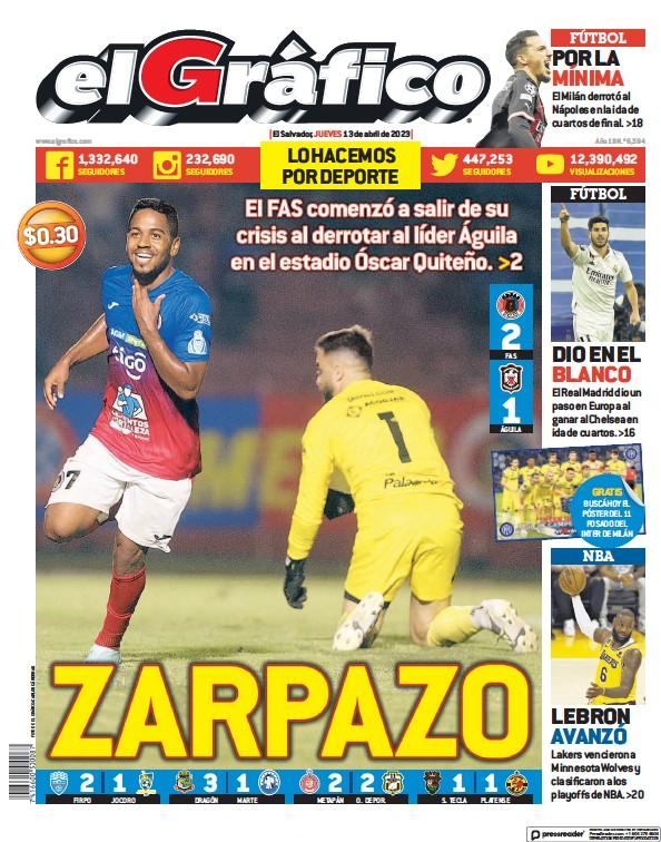 Read full digital edition of El Grafico newspaper from El Salvador