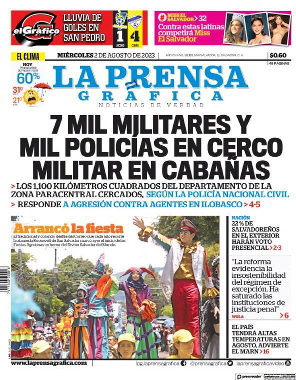 Read full digital edition of La Prensa Grafica newspaper from El Salvador