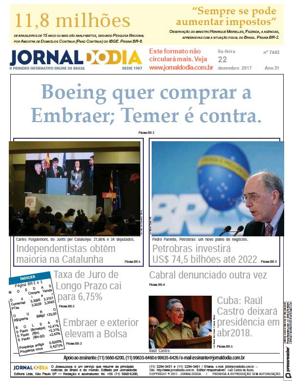 Read full digital edition of Jornaldodia newspaper from Brazil