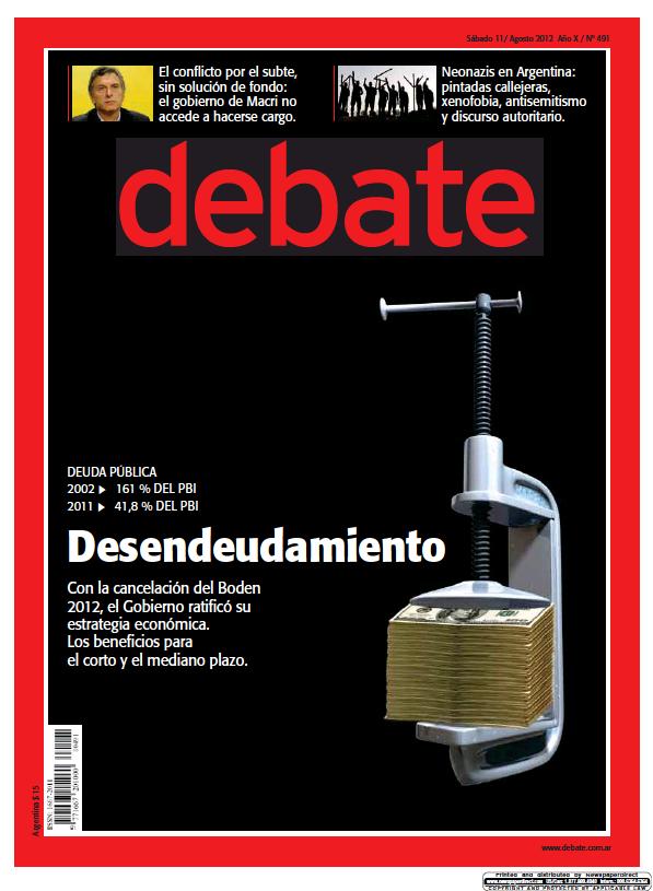 Read full digital edition of Debate newspaper from Argentina