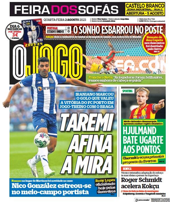 Read full digital edition of O Jogo newspaper from Portugal