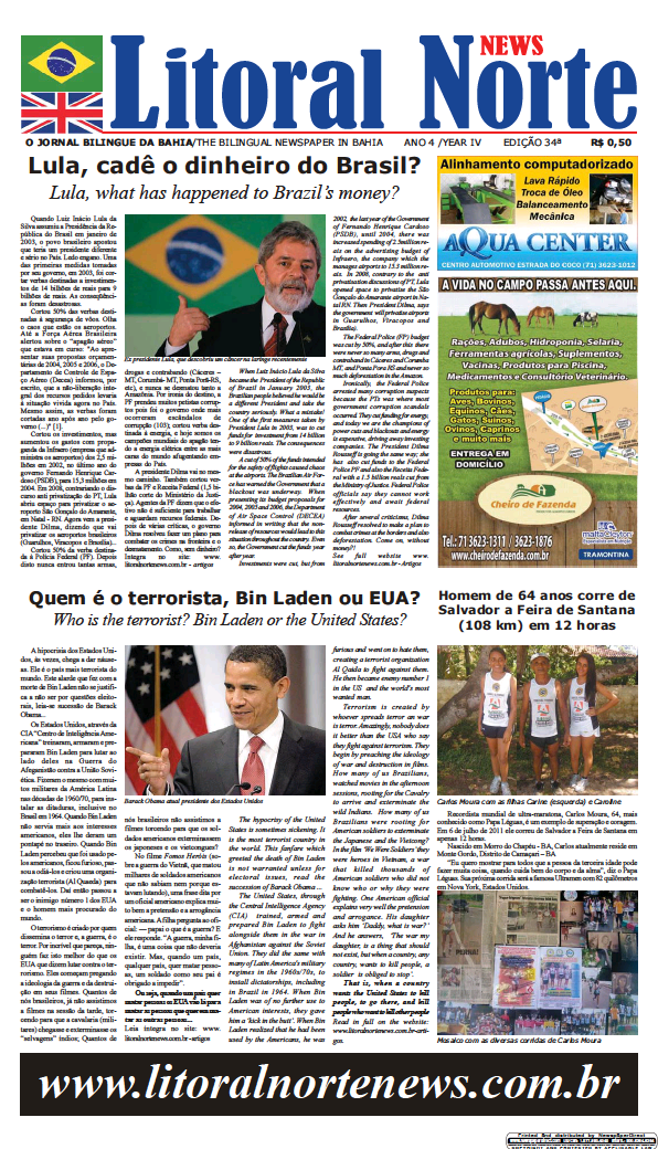 Read full digital edition of Litoral Norte News newspaper from Brazil