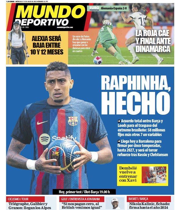 Read full digital edition of Mundo Deportivo newspaper from Spain