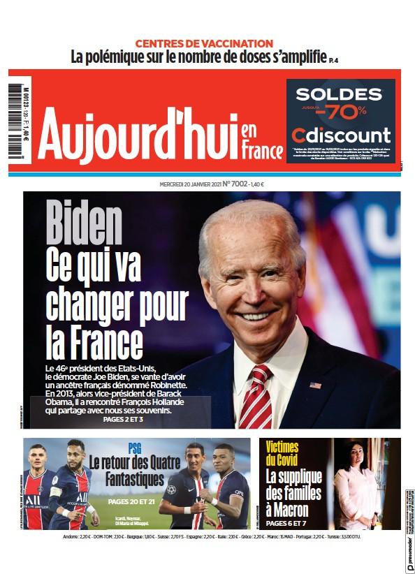Read full digital edition of Aujourd'hui en France newspaper from France
