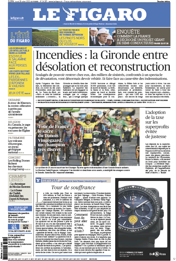 Read full digital edition of Le Figaro Online newspaper from France