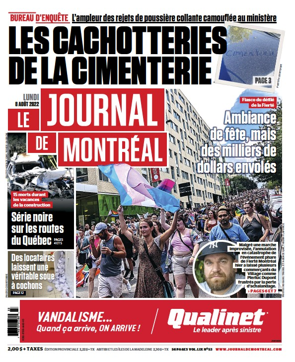 Read full digital edition of Le Journal de Montreal Online newspaper from Canada