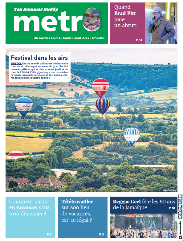 Read full digital edition of Metro (French Edition) newspaper from Belgium