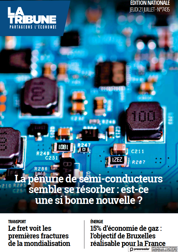 Read full digital edition of La Tribune newspaper from France