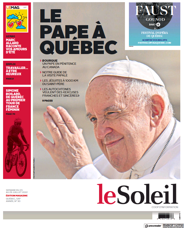 Read full digital edition of Le Soleil newspaper from Canada
