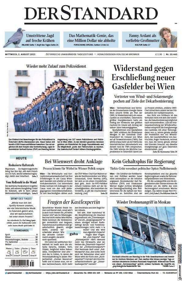 Read full digital edition of Der Standard newspaper from Austria