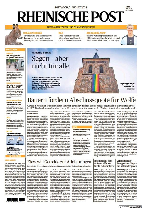 Read full digital edition of Rheinische Post newspaper from Germany