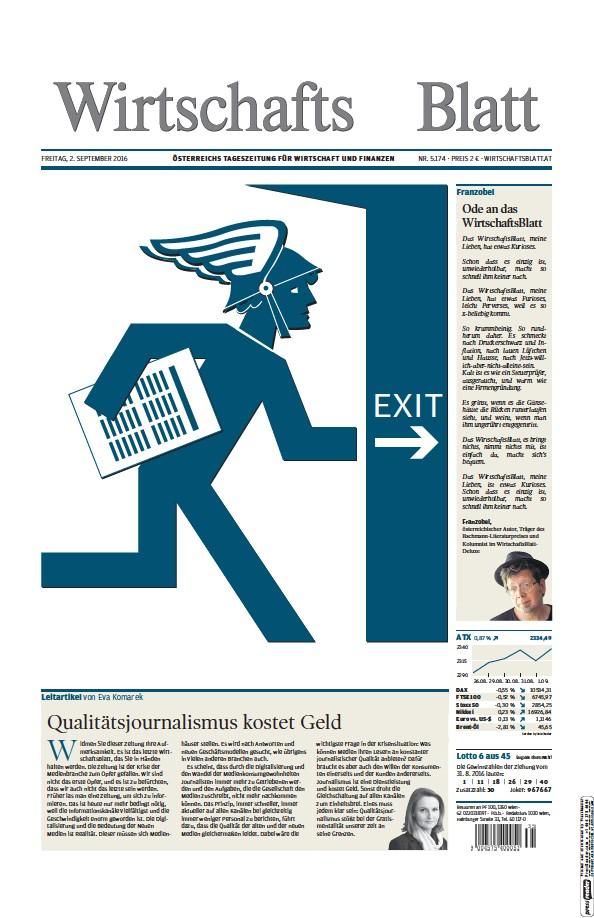Read full digital edition of Wirtschaftsblatt newspaper from Austria