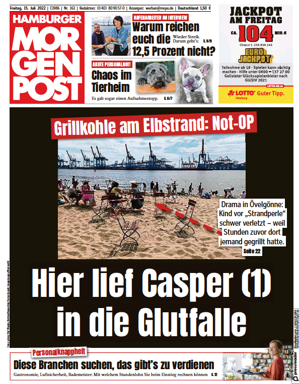 Read full digital edition of Hamburger Morgenpost newspaper from Germany
