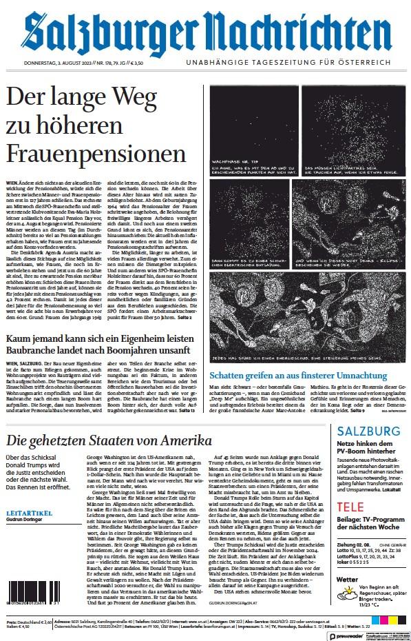 Read full digital edition of Salzburger Nachrichten newspaper from Austria