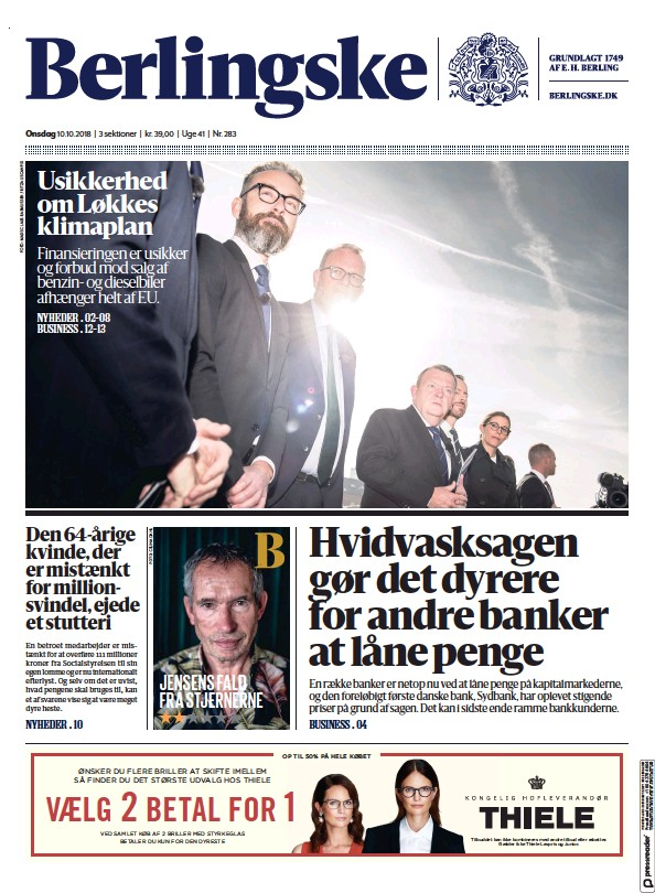Read full digital edition of Berlingske Tidende newspaper from Denmark